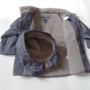 sewa-Perlengkapan Musim Dingin-Zara Baby Navy Winter Jacket
