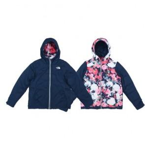 sewa-Perlengkapan Musim Dingin-The Noth Face Girls' Reversible Perrito Jacket