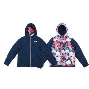 sewa-Perlengkapan Musim Dingin-The Noth Face Girls' Reversible Perrito Jacket