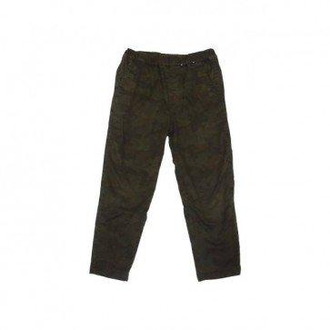 sewa-Baju Musim Dingin Anak-Uniqlo Kids Warm Lined Army Trousers Size 3-4 Tahun