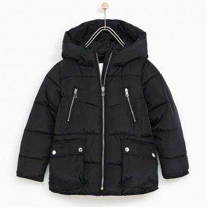 sewa-Perlengkapan Musim Dingin-Zara Fleece Lined Puffer Jacket 6-7, 8-9, 9-10 & 10 -11 Tahun