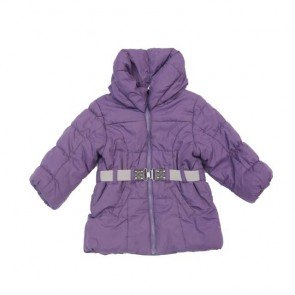 sewa-Baju Musim Dingin Anak-H&M Girl Purple Winter Jacket 12-18 Months