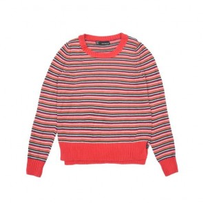 sewa-Perlengkapan Musim Dingin-Coldwear Ladies Oversize Cotton Pullover In Stripes M Dewasa