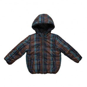 sewa-Perlengkapan Musim Dingin-Zara Boys Checked Reversible Jacket