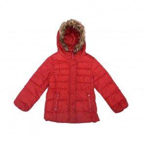 sewa-Perlengkapan Musim Dingin-Zara Winter Jacket With Faux Fur Hood 4-7 Tahun
