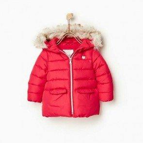 sewa-Perlengkapan Musim Dingin-Zara Baby Red Winter Jacket 12 - 18  dan 18 - 24 Bulan