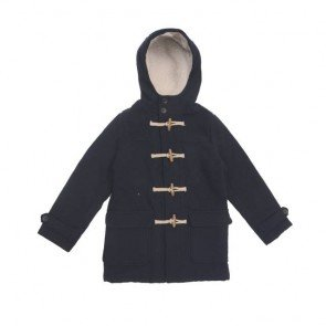 sewa-Baju Musim Dingin Anak-Zara Boys Duffle Coat 7-8 Years