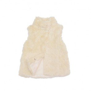 sewa-Perlengkapan Musim Dingin-Zara Fur Vest 2-3 Years