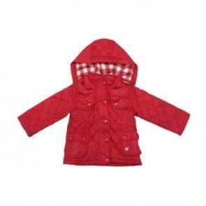 sewa-Baju Musim Dingin Anak-Zara Red Quilted Jacket (12 - 24 month)