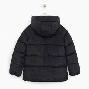 sewa-Perlengkapan Musim Dingin-Zara Fleece Lined Puffer Jacket (6-7 years)