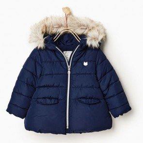 sewa-Perlengkapan Musim Dingin-Zara Baby Red Winter Jacket