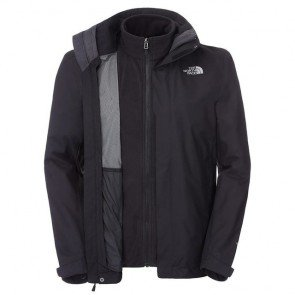 sewa-Perlengkapan Musim Dingin-The North Face Men's Evolve II Triclimate Jacket Small (Dewasa)