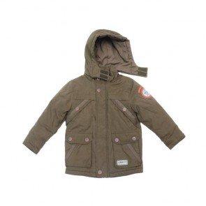 sewa-Baju Musim Dingin Anak-S Oliver Boys Green Army Winter Jacket 3-4 Years