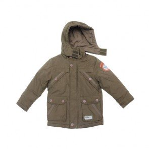 sewa-Perlengkapan Musim Dingin-S Oliver Boys Green Army Winter Jacket 3-4 Years