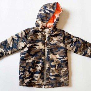 sewa-Perlengkapan Musim Dingin-Zara Camouflage Light Weight Jacket