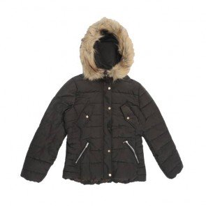sewa-Baju Musim Dingin Dewasa-H&M Woman Black Winter Jacket Size 40 / M