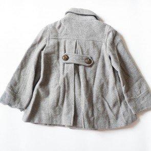 sewa-Perlengkapan Musim Dingin-Zara Girls Grey Coat