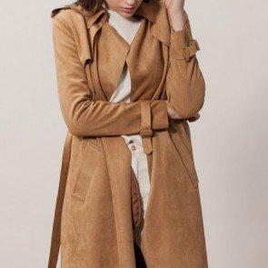 sewa-Perlengkapan Musim Dingin-Stradivarius Woman Long Coat (Dewasa)