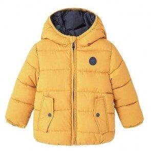 sewa-Perlengkapan Musim Dingin-Mango Aldo Mustard Winter Jackets For Kids