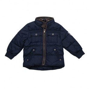 sewa-Perlengkapan Musim Dingin-Zara Boys Navy Blue Winter Jacket
