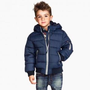 sewa-Perlengkapan Musim Dingin-H&M Orange Winter Jacket (7 Tahun)