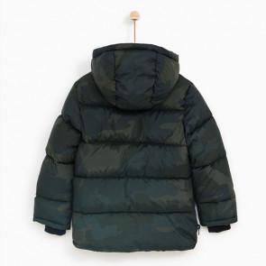 sewa-Perlengkapan Musim Dingin-Zara Basic Quilted Jacket With Hood