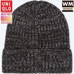 sewa-Perlengkapan Musim Dingin-Uniqlo Men Heattech Knitted Cap (Dewasa)
