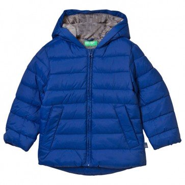 sewa-Pakaian & Kostum-United Colors of Benetton - Jacket With Hood Blue