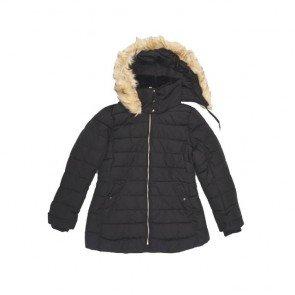 sewa-Baju Musim Dingin Dewasa-Zara Women Black Winter Jacket Dewasa - XXL