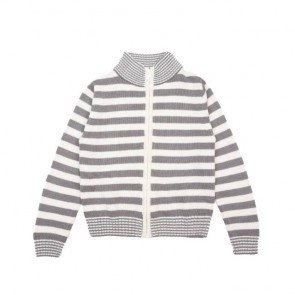 sewa-Pakaian & Kostum-Coldwear Round Neck Stripes Cardigan 7-8 Tahun