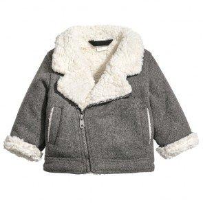 sewa-Perlengkapan Musim Dingin-H&M Pile-lined Jacket