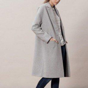sewa-Baju Musim Dingin Dewasa-Stradivarius Longline Smart Coat XS dan M (Dewasa)