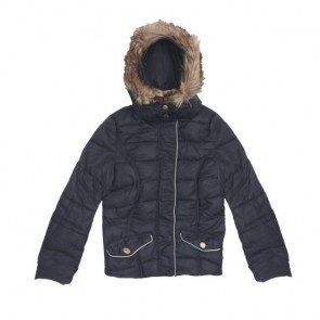 sewa-Baju Musim Dingin Dewasa-H&M Woman Navy Winter Jacket Size 34/ XS