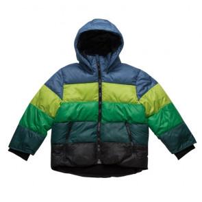 sewa-Perlengkapan Musim Dingin-H&M Rainbow Striper Jacket