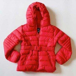 sewa-Perlengkapan Musim Dingin-Zara Girls Grey and Red Puffer Jacket -2-3 dan 3-4 Tahun