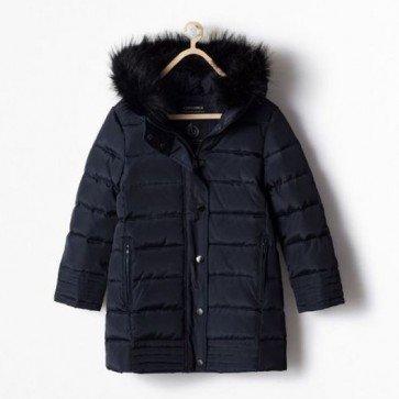 sewa-Perlengkapan Musim Dingin-Zara Long Puffer Jacket
