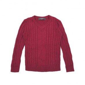 sewa-Perlengkapan Musim Dingin-Coldwear Cotton Cable Sweater 7-8 Tahun