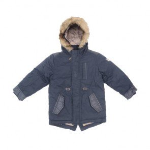 sewa-Perlengkapan Musim Dingin-Next Boys Navy Winter Jacket 3-4 Years