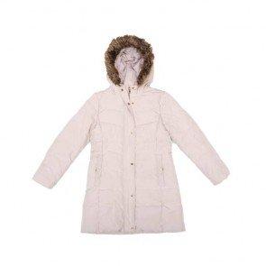 sewa-Baju Musim Dingin Anak-Zara Girls Beige Long Puffer Jacket size 11 - 12 Tahun