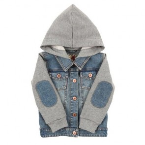 sewa-Pakaian & Kostum-Cotton On Denim Jacket