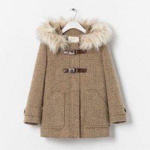 sewa-Perlengkapan Musim Dingin-Zara Baby Brown Coat