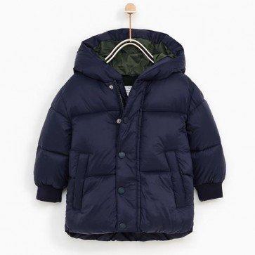sewa-Perlengkapan Musim Dingin-Zara Basic Quilted jacket (24-36 month)