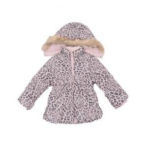 sewa-Perlengkapan Musim Dingin-H&M Girls Animal Print Winter Jacket 18-24 Months