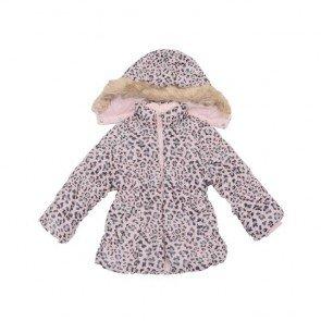 sewa-Baju Musim Dingin Anak-H&M Girls Animal Print Winter Jacket 18-24 Months