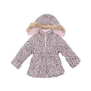 sewa-Perlengkapan Musim Dingin-H&M Girls Animal Print Winter Jacket 18-24 Months