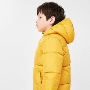 sewa-Perlengkapan Musim Dingin-Mango Aldo Mustard Winter Jackets For Kids