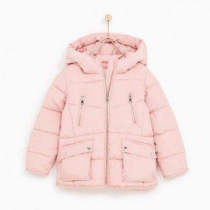 sewa-Perlengkapan Musim Dingin-Zara Fleece Lined Puffer Jacket 6-7, 8-9 & 9-10 Tahun