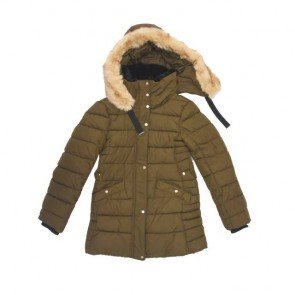 sewa-Baju Musim Dingin Dewasa-Zara Army Brown Winter Jacket Dewasa- XS