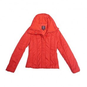 sewa-Perlengkapan Musim Dingin-Mango Women Red Winter Jacket