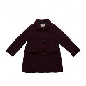 sewa-Perlengkapan Musim Dingin-Zara Girls Maroon Coat